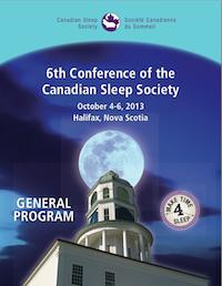 CSS 2013 Program Cover