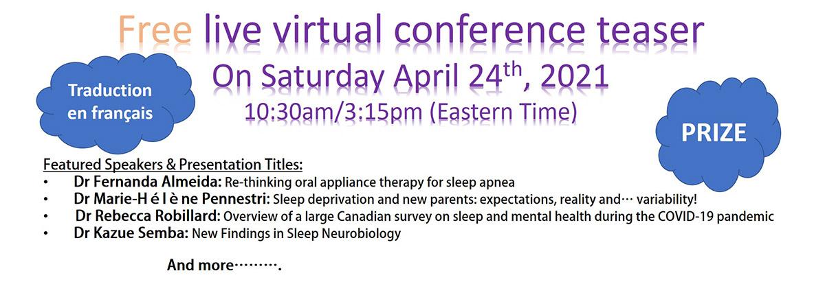 Free Virtual Event April 24 2021