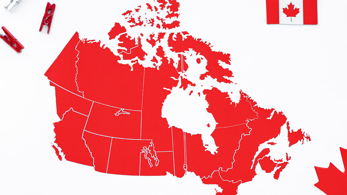 Map of sleep and/or circadian rhythm researchers across Canada