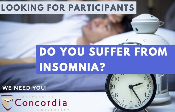 Participants needed for an Insomnia treatment study